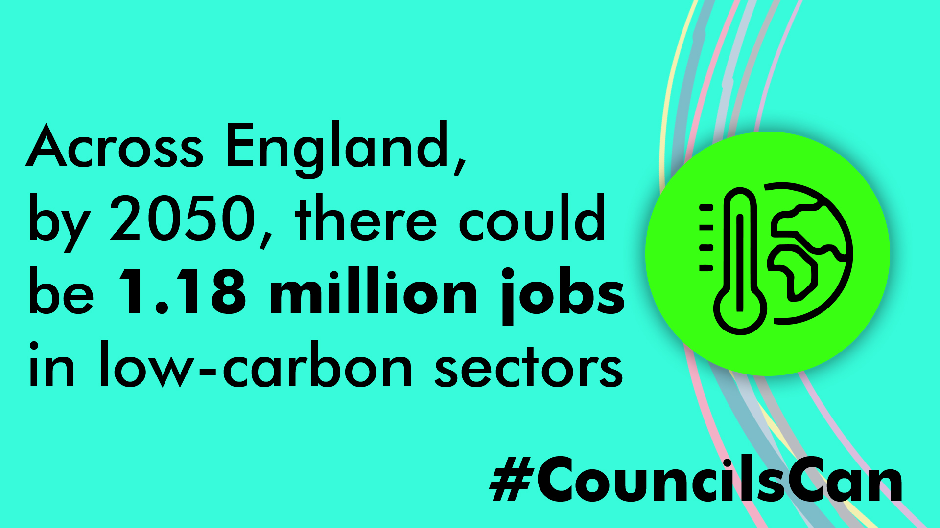 Across England, by 2050, there could be 1.18 million jobs in low-carbon sectors