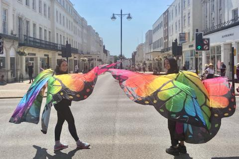 Leamington's 'butterfly' ambassadors