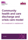 community health and care discharge and crisis care model