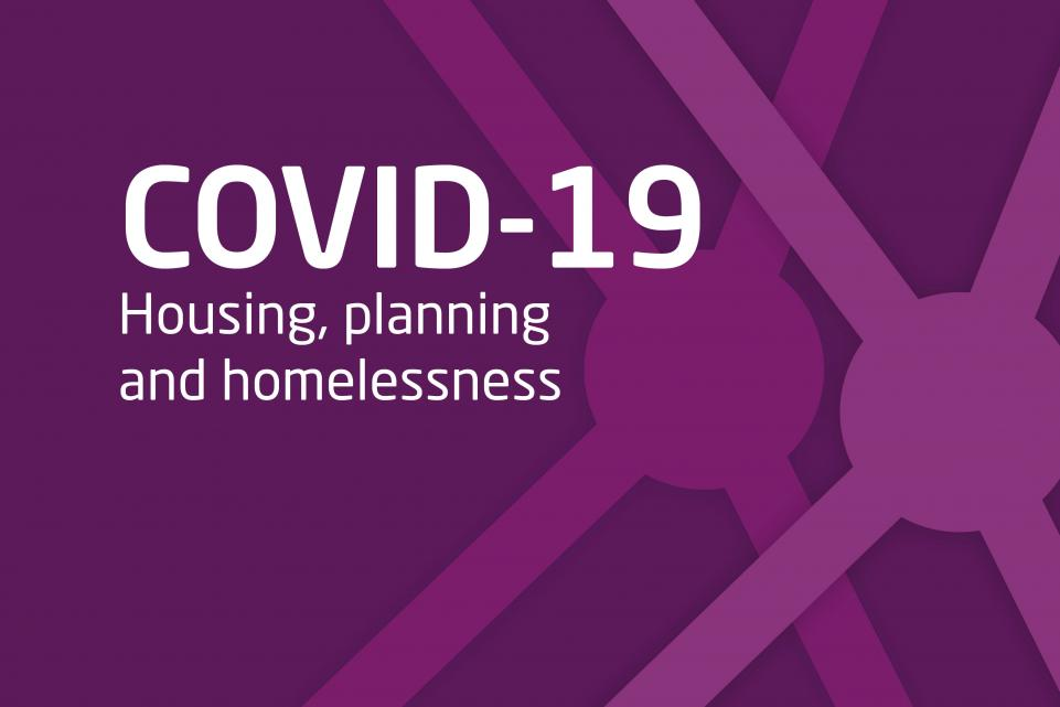 COVID Housing and planning