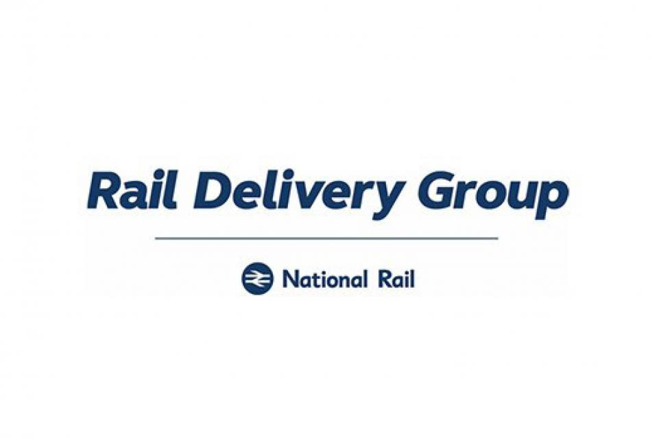 Logo for Rail Delivery Group